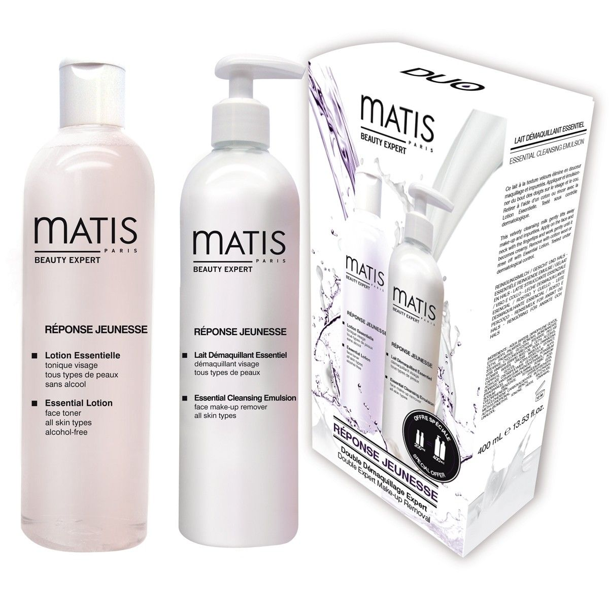 Image of Matis Réponse Jeunesse Cleansing Duo 400 ml Reinigung Beauty
