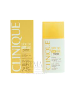 Clinique Mineral Sunscreen Fluid For Face Spf 50 30 Ml