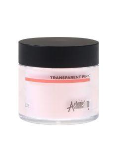 Astonishing Acrylic Powder Transparent Pink 25 Gr