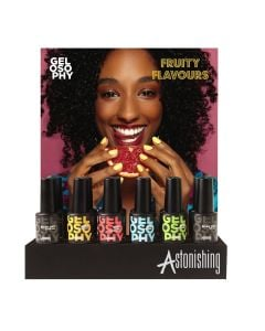 Astonishing Fruity Flavours Display 12 Pcs - Pink