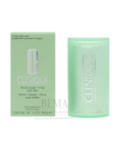 Clinique Mild Facial Soap With Dish 100 Gr
