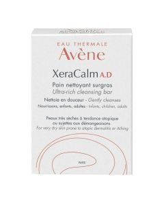 Avene Xeracalm A.D Ultra-Rich Cleansing Bar 100 G