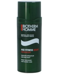 Biotherm Homme Age Fitness Night Advanced Night Recovery Anti-Aging Care - With Micro Algae Extracts 50 Ml