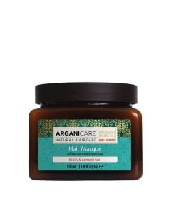 Arganicare Hair Masque For Dry & Damaged Hair - Argan & Shea Butter 500 Ml