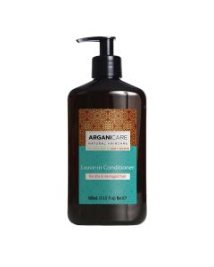 Arganicare Leave In Conditioner For Dry & Damaged Hair - Argan & Shea Butter 400 Ml