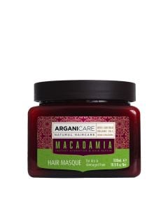 Arganicare Macadamia Hair Masque For Dry & Damaged Hair - Argan & Macadamia 500 Ml