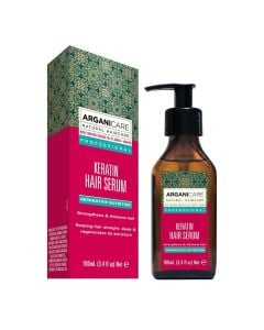 Arganicare Keratin Hair Serum - Argan & Keratin 100 Ml