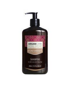 Arganicare Shampoo For Dull, Very Dry & Frizzy Hair - Argan & Coconut 400 Ml