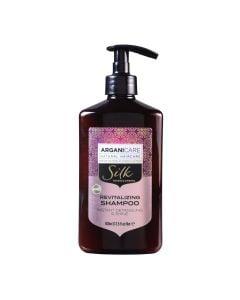 Arganicare Revitalizing Shampoo Instant Detangling And Shine - Argan & Silk Protein 400 Ml