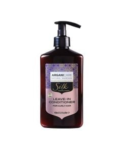 Arganicare Leave -In Conditioner For Curly Hair - Argan & Silk Protein 400 Ml