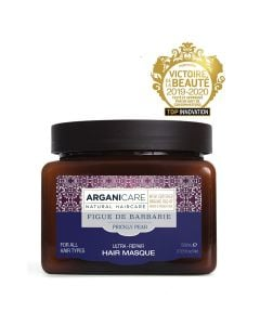 Arganicare Ultra-Repair Hair Masque For All Hair Types - Argan & Prickly Pear 500 Ml