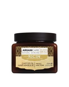 Arganicare Castor Oil Hair Masque For All Hair Types - Argan & Castor 500 Ml