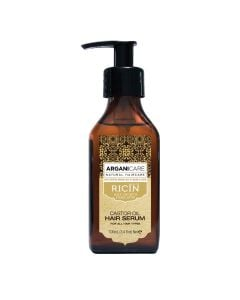 Arganicare Castor Oil Hair Serum For All Hair Types - Argan & Castor 100 Ml