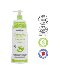 Alphanova 3In1 Bubble Wash 500Ml