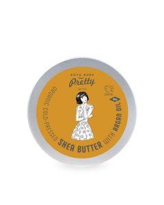 Zoya Goes Pretty Shea & Argan Butter Cold-Pressed & Organic 90G