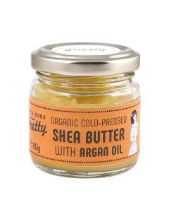 Zoya Goes Pretty Shea & Argan Butter Cold-Pressed & Organic 60G