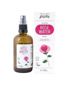 Zoya Goes Pretty Organic Bulgarian Rose Water Glass Bottle 100 Ml