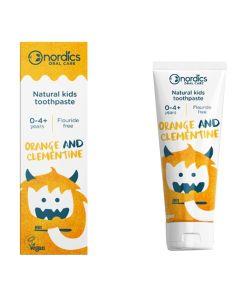 Nordics Natural Kids Toothpaste Orange Clementine 50Ml