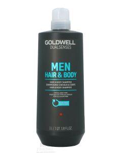 Goldwell Dual Senses Men Hair&Body Shampoo For All Hair Types 1000 Ml