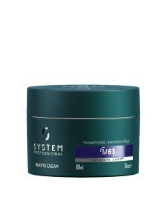 System Professional Man Matte Cream M63 80 Ml