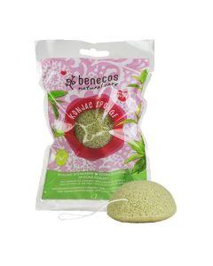 Benecos Natural Konjac Sponge - Green Tea
