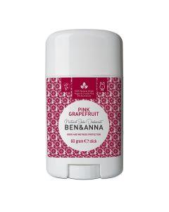 Ben & Anna Pink Grapefruit Natürlicher Soda Deodorant Stick