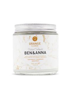 Ben & Anna Toothpaste Orange With Fluoride 100 Ml