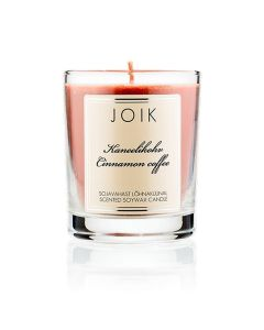 Joik Soywax Scented Candle Cinnamon Coffee 145 Gr