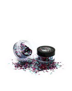 Paintglow Bio Blends Glitter Mixed Pez Rainbow 3 G