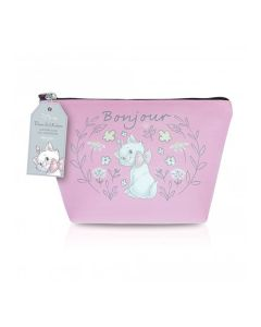 Mad Beauty Disney Marie Cosmetic Bag Pink