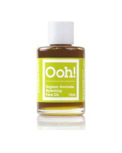 Ooh Oils Of Heaven Natural Organic Avocado Hydrating Face Oil 15Ml