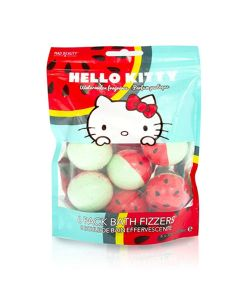 Mad Beauty Hello Kitty Watermelon Bath Fizzers 6-Pack