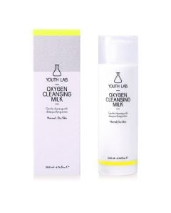 Youth Lab Oxygen Cleansing Milk All Skin Types  200Ml