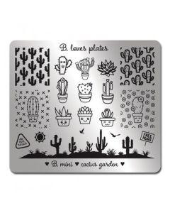 B. Loves Plates Cactus Garden