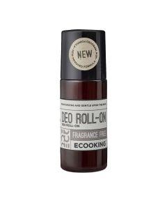 Ecooking Deodorant Roll-On Fragrance Free 50 Ml