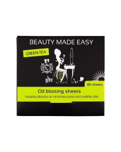 Beauty Made Easy Green Thee Oil Blotting Sheets