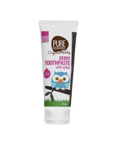 Pure Beginnings Berry Toothpaste With Xylitol 75 Ml