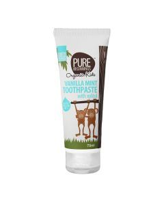 Pure Beginnings Vanilla Mint Toothpaste With Xylitol 75 Ml