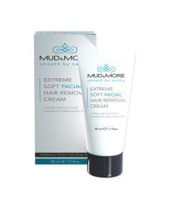 Mud & More Hair Removal Cream Face - Extreme Soft