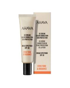 Ahava Cc Cream Color Correction Spf30 - 30 Ml