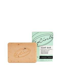 UpCircle Cinnamon & Ginger Chai Soap Bar 100 g