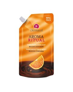 Dermacol Aroma Ritual Refill Liquid Soap Belgian Chocolate 500 Ml