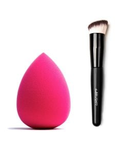 Combideal The Make-Up Blender Pink + The Brush Kabuki Buffer Brush