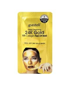 The Pastel Shop Deep Cleansing 24K Gold With Collagen Peel Off Mask 10 Ml