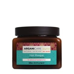 Arganicare Hair Masque For Colored And Highlighted Hair – Argan & Shea Butter 500 Ml