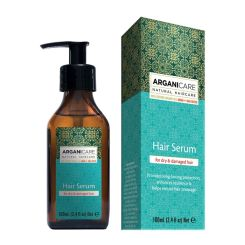 Arganicare Hair Serum For Dry & Damaged Hair - Argan & Shea Butter 100 Ml