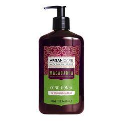 Arganicare Macadamia Conditioner For Dry & Damaged Hair - Argan & Macadamia 400 Ml
