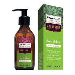 Arganicare Macadamia Hair Serum For Dry & Damaged Hair - Argan & Macadamia 100 Ml