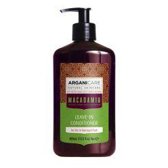 Arganicare Macadamia Leave-In Conditioner For Dry & Damaged Hair - Argan & Macadamia 400 Ml