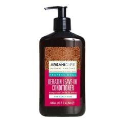 Arganicare Keratin Leave-In Conditioner For Curly Hair - Argan & Keratin 400 Ml